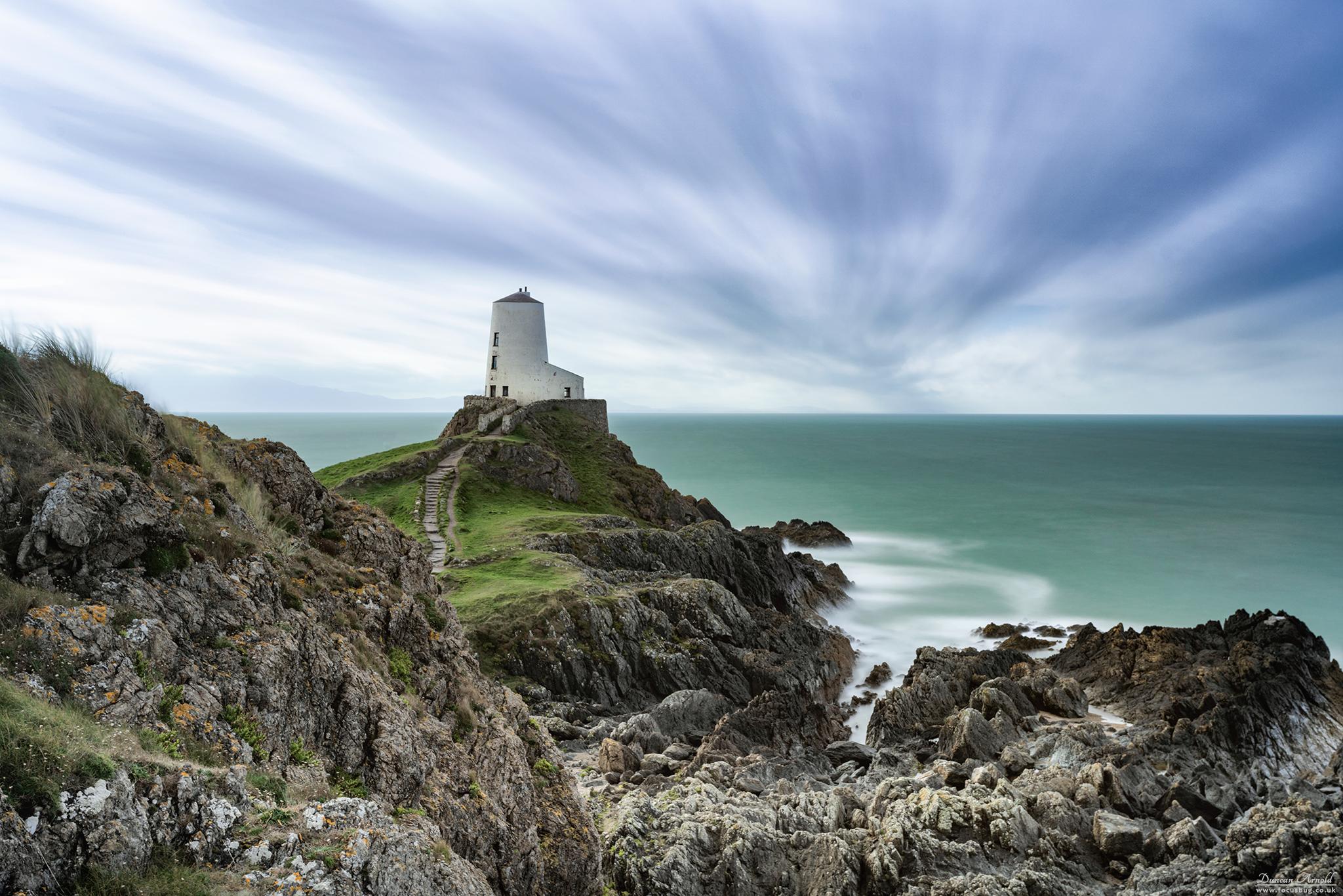Tŵr Mawr lighthouse, Ynys Llanddwyn, Anglesey